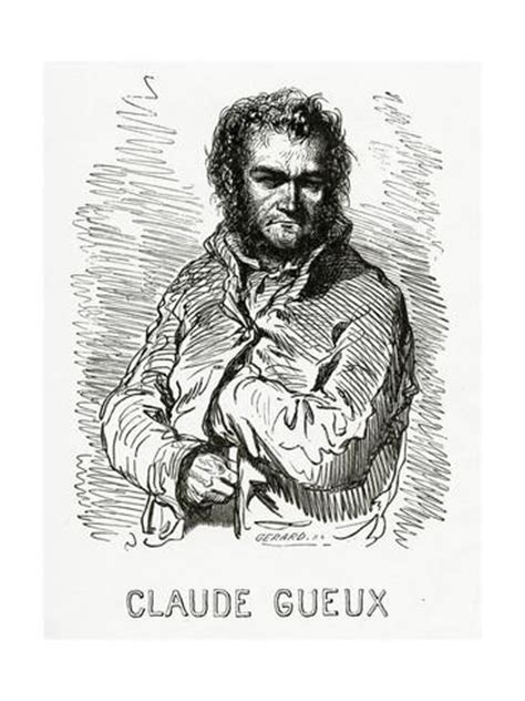 claude gueux portrait of claude gueux 1834 giclee print by paul gavarni at allposters com