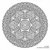 Of Advanced Mandala A3 Coloring Book 2 By Jim On DeviantArt