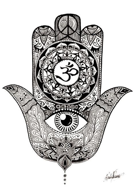 hamsa hand design by andywillmore pinteres mao de hamsa by renatavianna deviantart com on deviantart