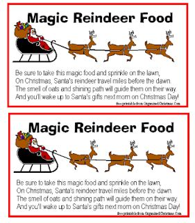 magic reindeer food poem template diary of a stay at home gifts for the family