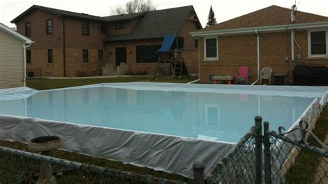 backyard ice rink liners triyae com backyard ice rink liner various design inspiration for backyard