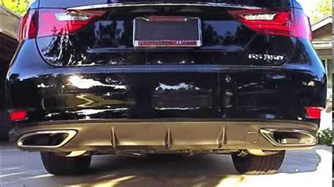 2013 lexus gs 350 f sport pts joe z cat back exhaust
