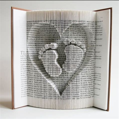 Book Paper Folding - 25 best ideas about book on folded book
