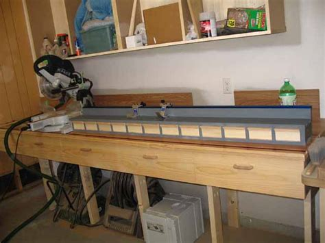 chop saw bench miter saw station plans or photos