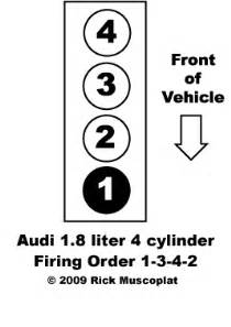 audi firing order 1 8l 4 cylinder ricks free auto repair
