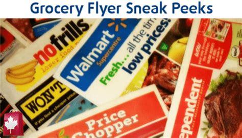grocery flyer sneak peeks walmart freshco food basics  frills canadian freebies coupons