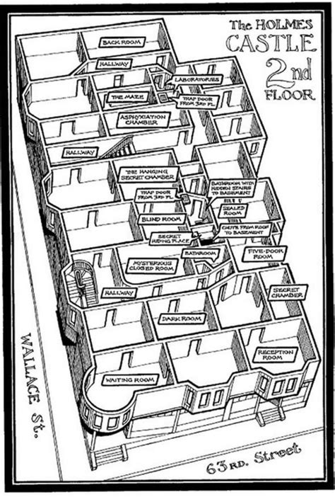 castle howard floor plan the body of a serial killer who built a quot murder hotel