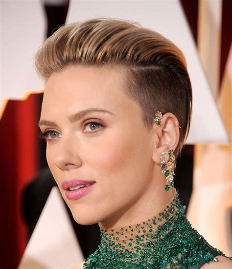 scarlettjohanssonhaircut at the oscars the best jewelry at the oscars 2015 on the side carpets