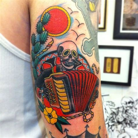 accordion tattoo mexican accordion search tattoos