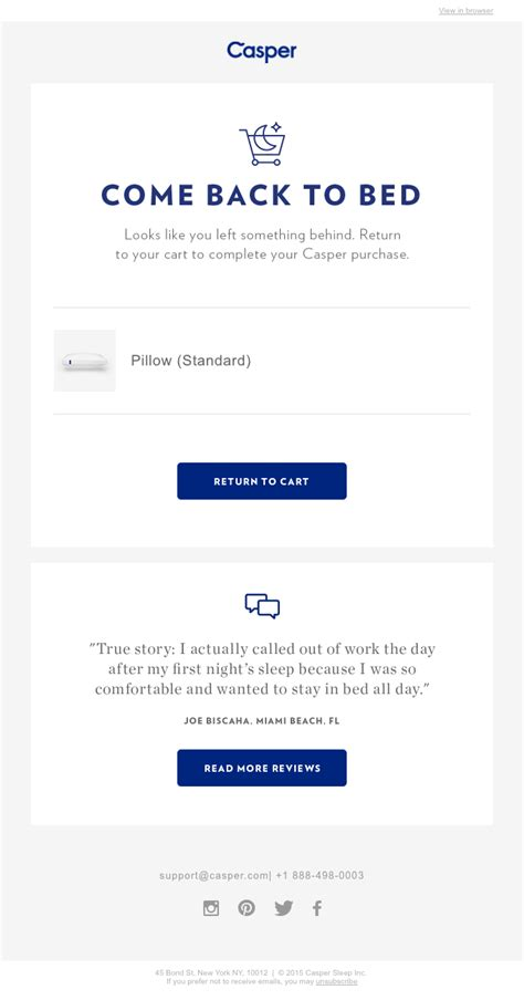 Swipe 10 Ecommerce Email Templates 20 Real Exles Email Swipe Templates