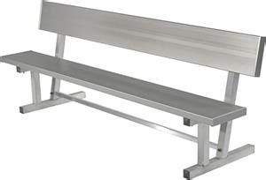 soccer portable bench highland aluminum players portable bench w back soccer equipment and gear