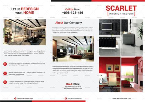 home brochure templates   warm