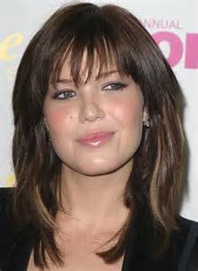 layers with bangs hairstyles for 2015 for regular 15 modern medium length haircuts with bangs layers for