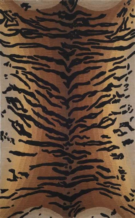 tiger print rugs seville tiger brown wool rugs from transocean