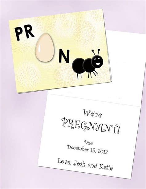 pregnancy announcement cards 157 best pregnancy announcement images on