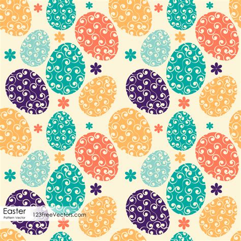 easter pattern background easter egg pattern by 123freevectors on deviantart