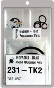 20 Tk Kode 283 231 tk2 ingersoll rand tune up kit for the irc 231