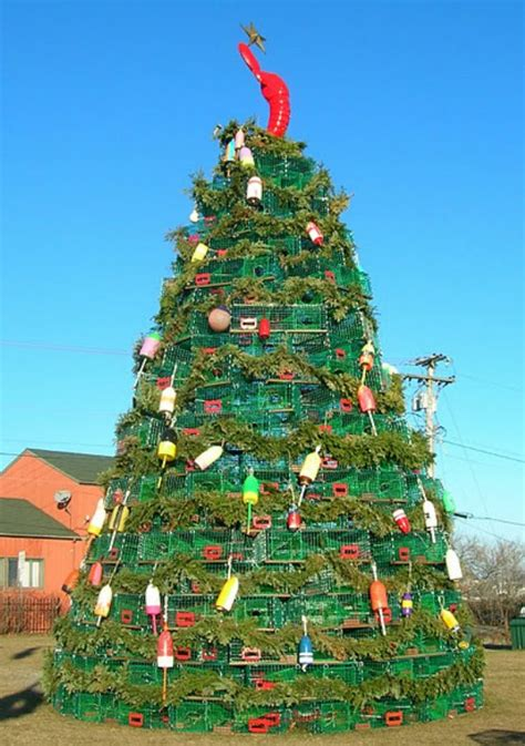 recycled christmas tree contest try an eco friendly tree insteading
