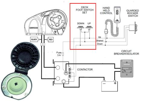 lewmar 0052531 wiring diagram lewmar 40 winch schematic