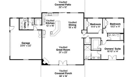 ranch style house floor plans cheap two story house plans small storey modern single