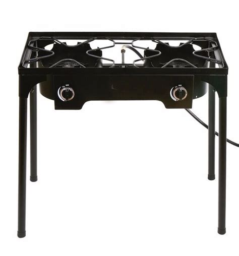 Outdoor Cooktop Propane by Propane Stove 2 Burner Gas Outdoor Portable Cing Bbq