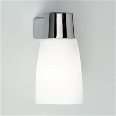 astro lighting cuba bathroom chrome wall light with white