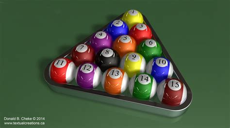 Rack Pool Balls Correctly by Turbocad Gallery