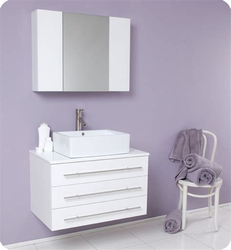 Fresca Bathroom Vanity by Fresca Modello White Modern Bathroom Vanity W Marble Countertop Direct To You Furniture