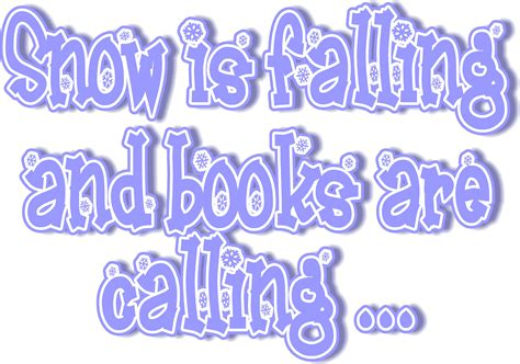 winter calling books winter reading image
