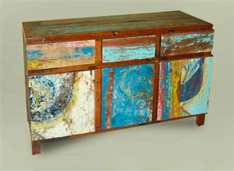 furniture made from old boats make your house colorful with this furniture made from