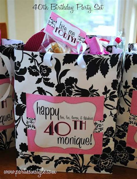 Fierce Fabulous And Forty Decorations by Fierce Fabulous Forty Birthday Ideas