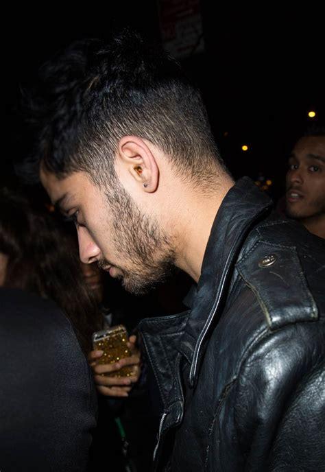 zayn malik showed off horrible waxy ears in new york