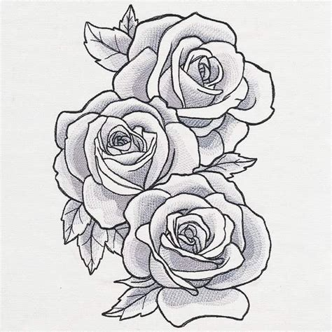 rose tattoo stencils best 25 stencils ideas on outline