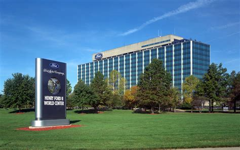 Ford Motor Company Dearborn Mi by Ford Motor Co Dearborn Michigan