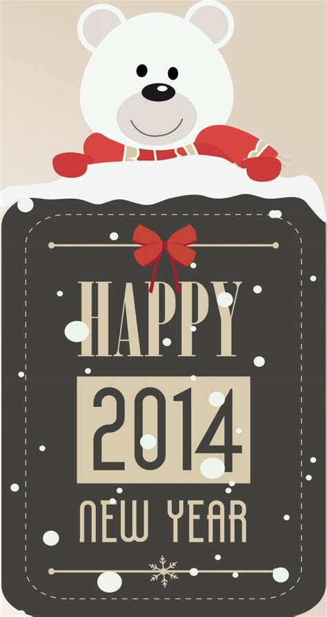 classic designs happy new year 2014 cards elsoar
