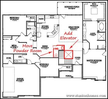 house plans with elevators va specially adapted housing approved floor plans