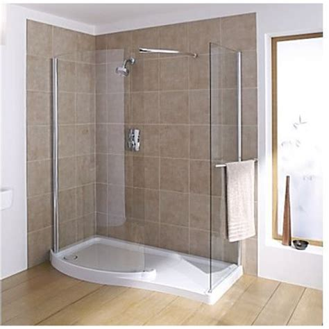 Large Corner Shower Units Mira Leap Walk In 1400 X 800mm