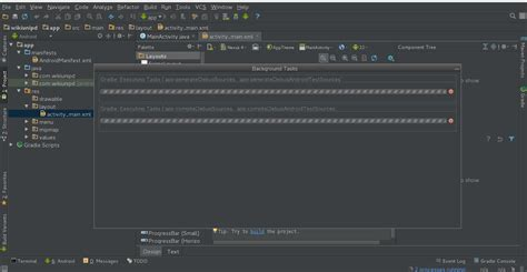 android studio tutorial stackoverflow android studio gradle stuck stack overflow