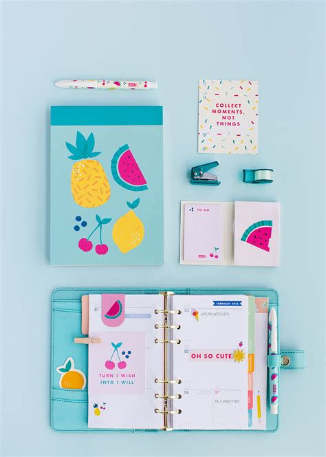 8 Adorable Stationery Kits by Make Your Stationery With The New Kikki K