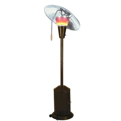 Mirage Patio Heater Mirage 38 200 Btu Bronze Heat Focusing Propane Gas Patio Heater Hdmirage10 The Home Depot