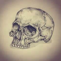 skull tattoo sketch drawing by ranz pinterest
