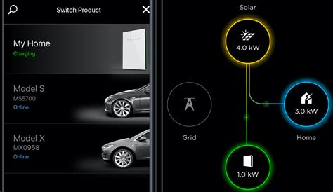 tesla apps tesla updates mobile app with powerwall and solar energy