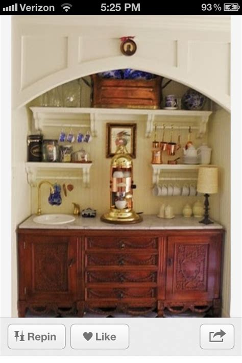 coffee nook ideas love the coffee nook diy projects pinterest