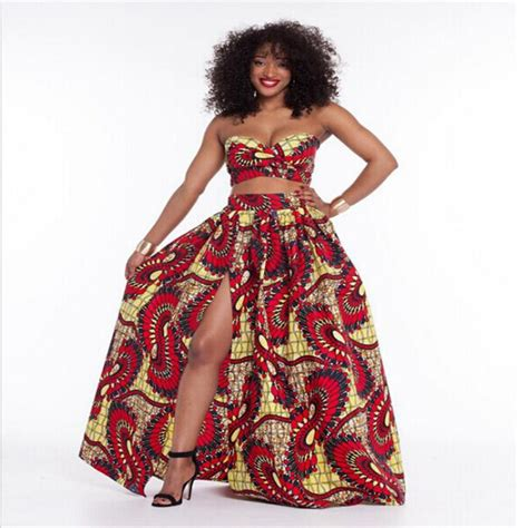 african print two piece outfits for women aliexpress com buy summer african style dress women