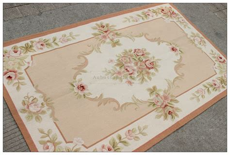 pink aubusson rugs shabby chic aubusson rug light pink ivory subtle pastel roses wow ebay