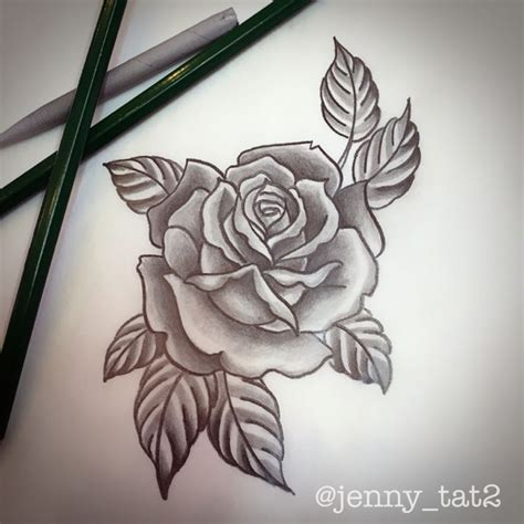 3d black rose tattoos collection of 25 grey design