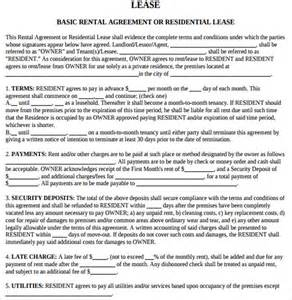Rental Lease Letter by Rental Agreement Letters Sles Exles Formats 7 Free Documents In Pdf Word
