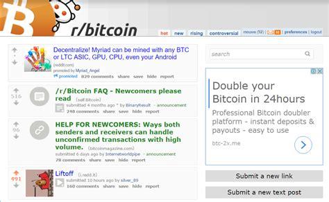 bitcoin reddit reddit bitcoin 24 hours