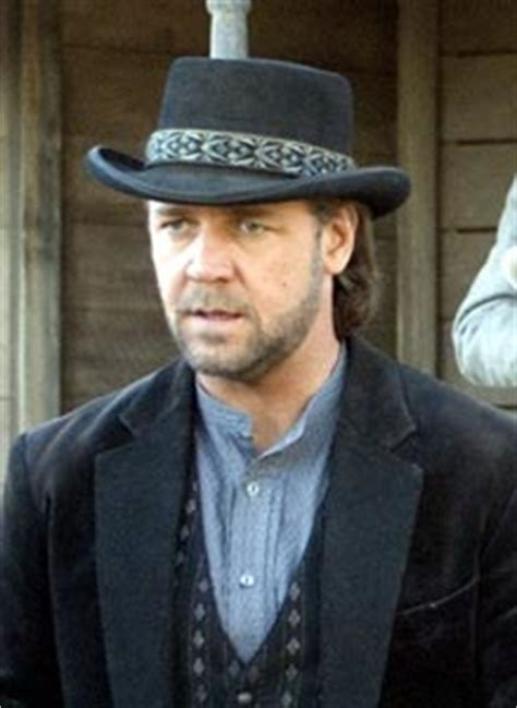cowboy film russell crowe 3 10 to yuma hat russell crowe