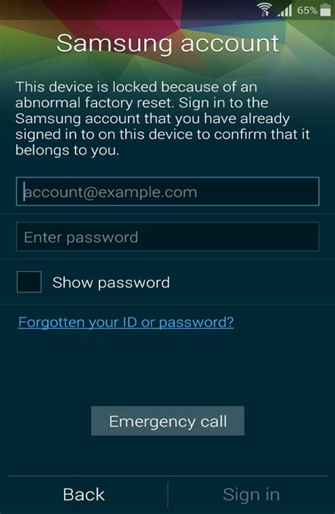 how to unlock android phone with account how to unlock sm g900f samsung account